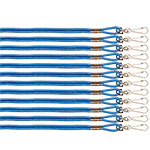 HEAVY NYLON LANYARD BLUE