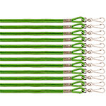 HEAVY NYLON LANYARD GREEN