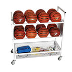 16 BALL DOUBLE WIDE BALL CART