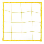 2.5 MM OFFICIAL SIZE SOCCER NET YELLOW