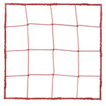 3.0 MM OFFICIAL SIZE SOCCER NET RED