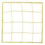 3.0 MM OFFICIAL SIZE SOCCER NET YELLOW