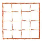 4.0 MM OFFICIAL SIZE SOCCER NET ORANGE