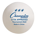 3 STAR TOURNAMENT TABLE TENNIS BALLS