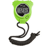 STOP WATCH NEON GREEN