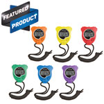 STOP WATCH SET OF 6 COLORS