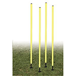 OUTDOOR AGILITY POLE SET