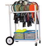 ALL TERRAIN ABS RACKET CART