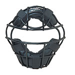HEAVY DUTY YOUTH BASEBALL MASK BLACK