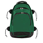 DELUXE SPORTS BACKPACK DARK GREEN