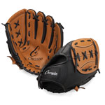 11 INCH LEATHER & VINYL BASEBALL/SOFTBALL GLOVE