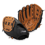 11 INCH LEATHER & VINYL BASEBALL/SOFTBALL GLOVE RIGHT HANDED