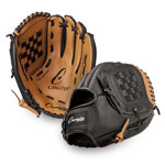 12 INCH LEATHER & VINYL BASEBALL/SOFTBALL GLOVE