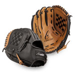 12 INCH LEATHER & VINYL BASEBALL/SOFTBALL GLOVE RIGHT HANDED