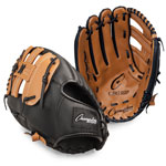 13 INCH LEATHER & VINYL BASEBALL/SOFTBALL GLOVE RIGHT HANDED