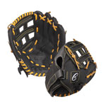 10 INCH LEATHER & NYLON BASEBALL/SOFTBALL GLOVE