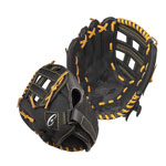 10 INCH LEATHER & NYLON BASEBALL/SOFTBALL GLOVE RIGHT HANDED