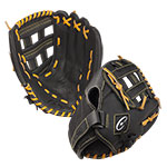 12 INCH LEATHER & NYLON BASEBALL/SOFTBALL GLOVE