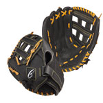 12 INCH LEATHER & NYLON BASEBALL/SOFTBALL GLOVE RIGHT HANDED