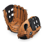 14.5 INCH LEATHER BASEBALL/SOFTBALL GLOVE