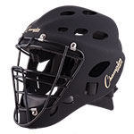 YOUTH HOCKEY STYLE CATCHER'S HELMET MATTE BLACK