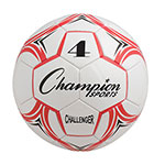 CHALLENGER SOCCER BALL SIZE 4 RED/WHITE