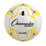 CHALLENGER SOCCER BALL SIZE 4 YELLOW/WHITE