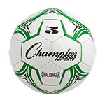 CHALLENGER SOCCER BALL SIZE 5 GREEN/WHITE