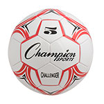 CHALLENGER SOCCER BALL SIZE 5 RED/WHITE