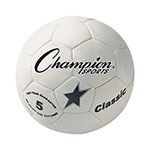 CLASSIC HAND SEWN SOCCER BALL SIZE 5