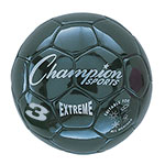 EXTREME SOCCER BALL SIZE 3 BLACK