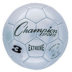 EXTREME SOCCER BALL SIZE 3 SILVER