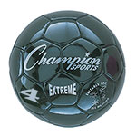 EXTREME SOCCER BALL SIZE 4 BLACK