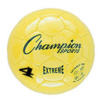 EXTREME SOCCER BALL SIZE 4 YELLOW
