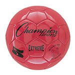 EXTREME SOCCER BALL SIZE 5 RED