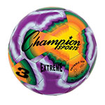 EXTREME TIE DYE SOCCERBALL SIZE 3