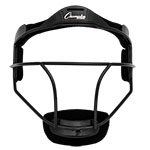 SOFTBALL FACE MASK ADULT BLACK