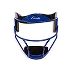 SOFTBALL FACE MASK ADULT BLUE