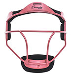 SOFTBALL FACE MASK ADULT PINK