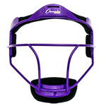 SOFTBALL FACE MASK ADULT PURPLE