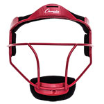 SOFTBALL FACE MASK ADULT RED