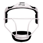 SOFTBALL FACE MASK ADULT WHITE
