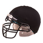 FOOTBALL HELMET COVER BLACK