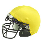 FOOTBALL HELMET COVER GOLD