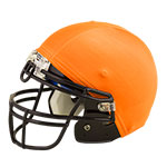 FOOTBALL HELMET COVER ORANGE