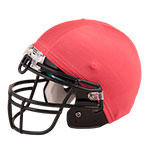 FOOTBALL HELMET COVER RED