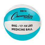 8 KG LEATHER MEDICINE BALL