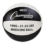 10KG LEATHER MEDICINE BALL