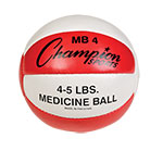 2 KG LEATHER MEDICINE BALL