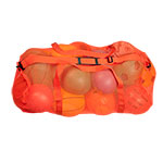 MESH DUFFLE BAG ORANGE
